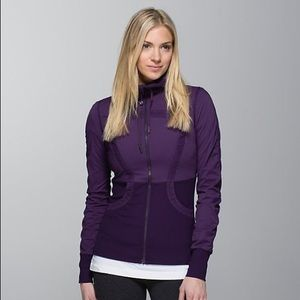 Lululemon Dance studio reversible jacket purple